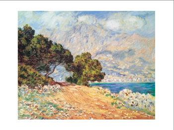 Cap Martin, near Mentonu Festmény reprodukció