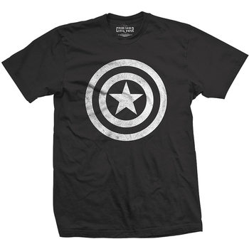 T-Shirt  Captain America - Basic Shield