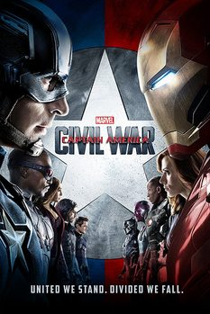 Captain America Civil War - One Sheet - плакат (poster)