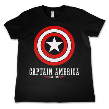 T-Shirt Captain America - Logo