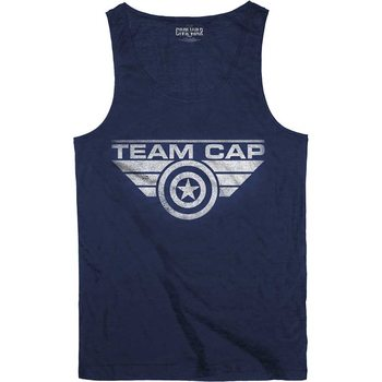 T-Shirt  Captain America - Team Cap
