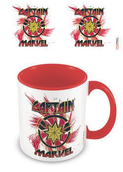 Becher Captain Marvel - Rock