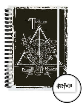 Harry Potter and the Deathly Hallows - Graphic Carnete și penare