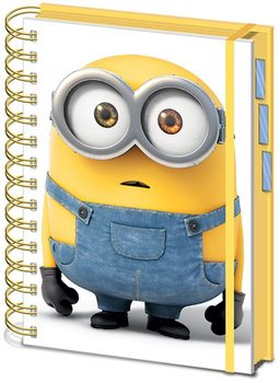 Minions - Movie A5 Project Book Carnete și penare