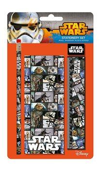 Star Wars - Blocks Stationery Set Carnete și penare