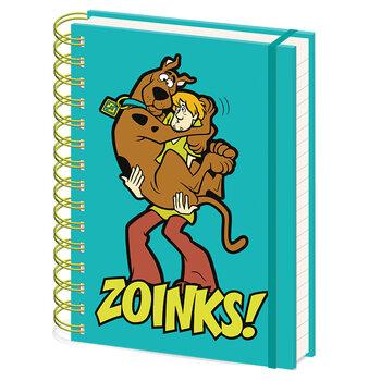 Carnețele Scooby Doo - Zoinks