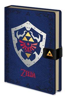 Carnețele The Legend of Zelda - Hylian Shield