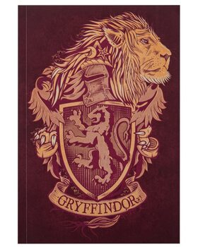 Carnet Harry Potter - Gryffindor