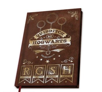 Carnet Harry Potter - Quidditch