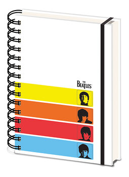 Carnet The Beatles - A Hard Day's Night