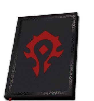 Carnet World Of Warcraft - Horde