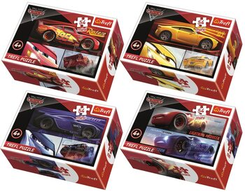 Puzzel Cars 3 4in1