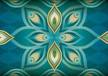 Carta da parati Abstract Art - Mandala
