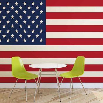 Carta da parati Bandiera Stati Uniti d'America USA