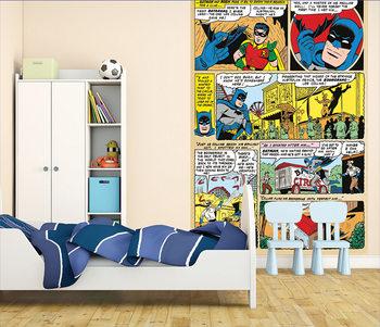 Carta da parati Batman and Robin Comic