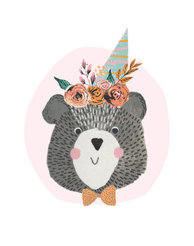 Carta da parati Birthday Bear