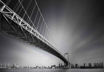 Carta da parati Bridge At Sumida River