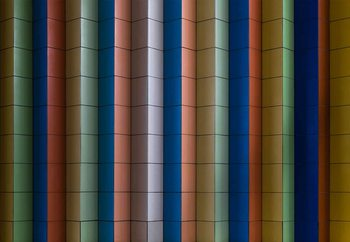 Carta da parati Colorful Stripes