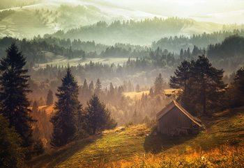 Carta da parati  Cottage With Views