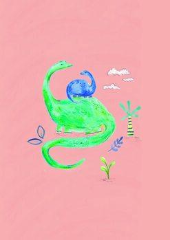Carta da parati Dino