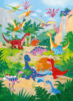 Carta da parati DINO WORLD