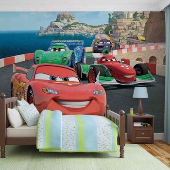 Carta da parati Disney Cars Saetta McQueen Bernoulli