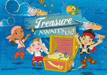 Carta da parati  Disney Jake Neverland Pirati - Un Sogno per La Vita