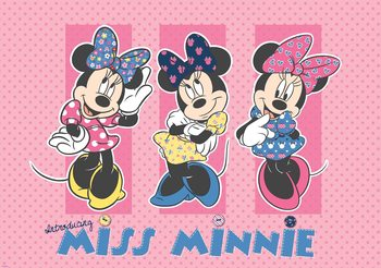 Carta da parati Disney Minnie Mouse