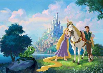 Carta da parati Disney Princesses Rapunzel