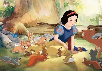 Carta da parati Disney Princesses Snow White