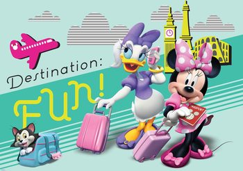 Carta da parati  Disney Topolina - Minnie
