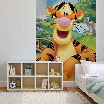 Carta da parati Disney Winnie Pooh Tigro