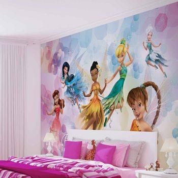 Carta da parati Favole Disney Fairies Iridessa Daina Rosetta
