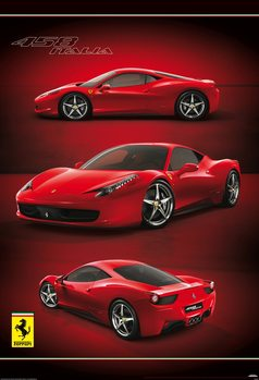 Carta da parati Ferrari