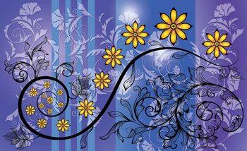 Carta da parati Fiori Motivo Floreale