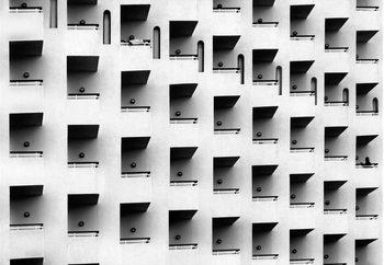 Carta da parati Geometric Facade