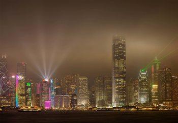 Carta da parati Hong Kong Island