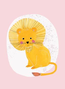 Carta da parati Lion