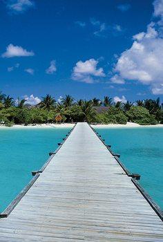 Carta da parati Maldive - il sogno