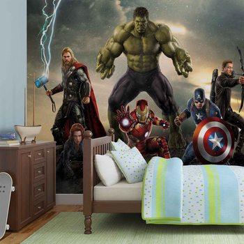 Carta da parati Marvel Avengers - I Vendicatori Battaglia