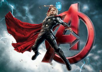 Carta da parati  Marvel Avengers - I Vendicatori Thor
