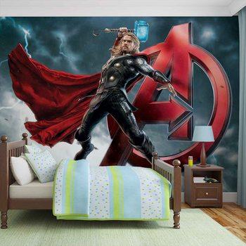 Carta da parati Marvel Avengers - I Vendicatori Thor