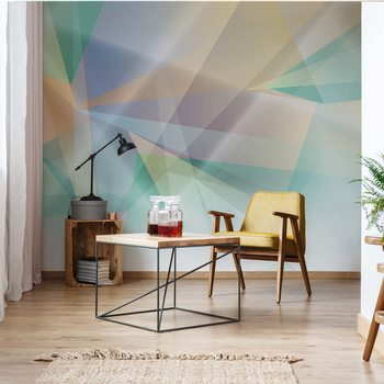 Carta da parati Modern Abstract Art Prism