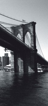 Carta da parati New York - Brooklyn Bridge