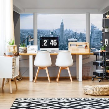 Carta da parati New York City Skyline 3D Penthouse View