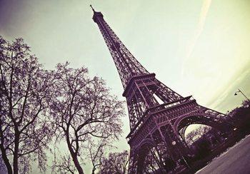 Carta da parati Parigi - La torre Eiffel