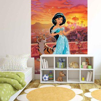 Carta da parati Principesse Disney Jasmine