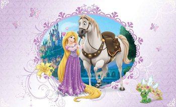 Carta da parati Principesse Disney Raperonzolo