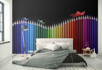 Carta da parati Rainbow Storm