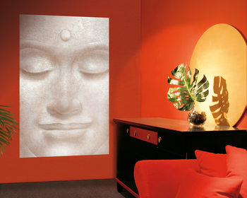 Carta da parati SMILING BUDDHA - wei ying wu